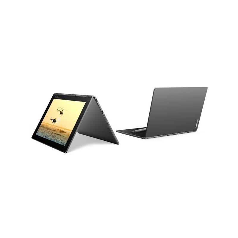 Tablet Lenovo YOGA Book 10 LTE (ZA0W0019CZ) sivý Software F-Secure SAFE 6 měsíců pro 3 zařízení (zdarma) + Doprava zadarmo