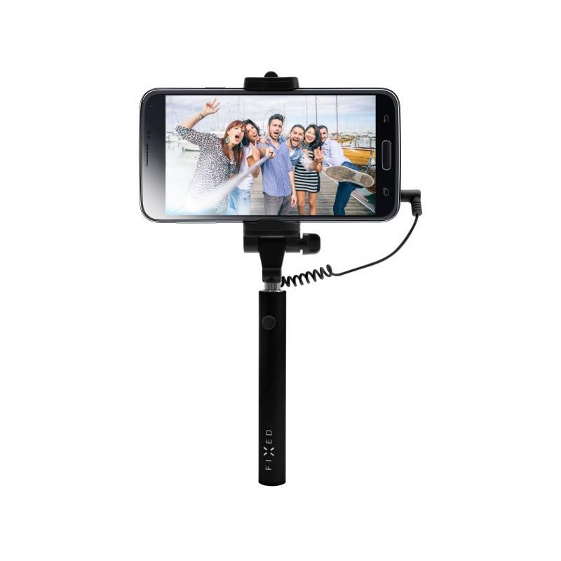 Selfie tyč FIXED Snap Mini - černá (FIXSS-SNM-BK) čierna