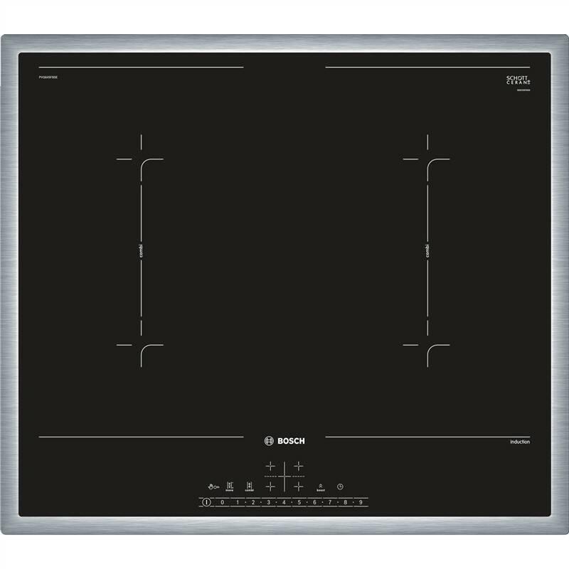 Indukční varná deska Bosch PVQ645FB5E černá