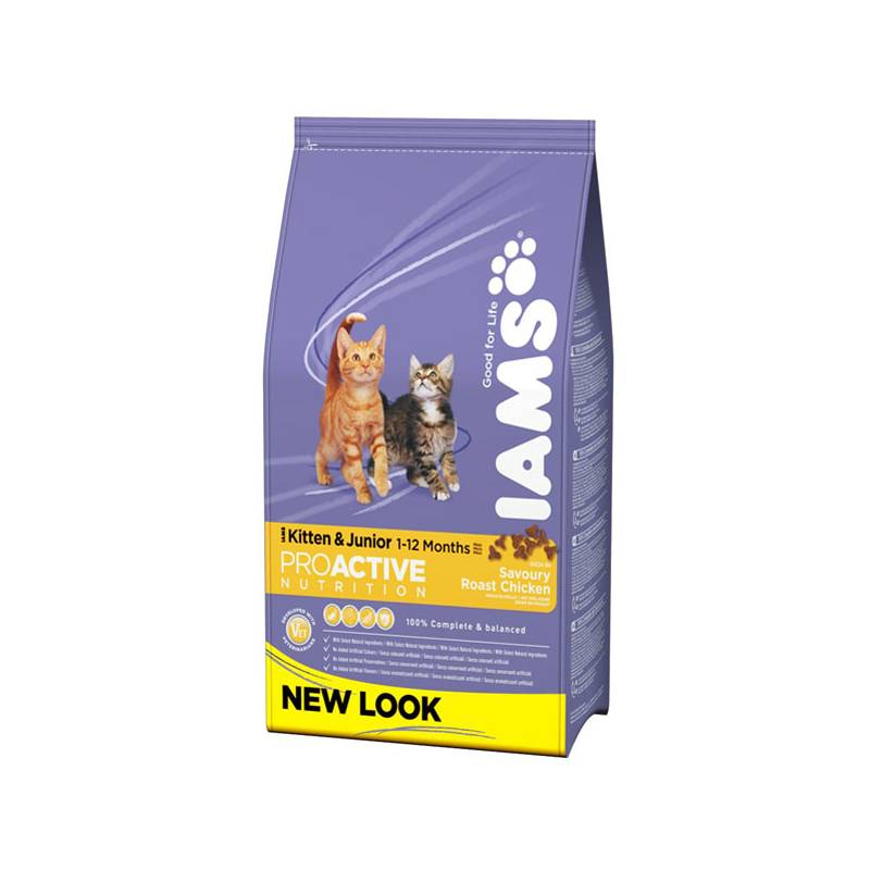 Granule Iams Kitten rich in Chicken 10 kg
