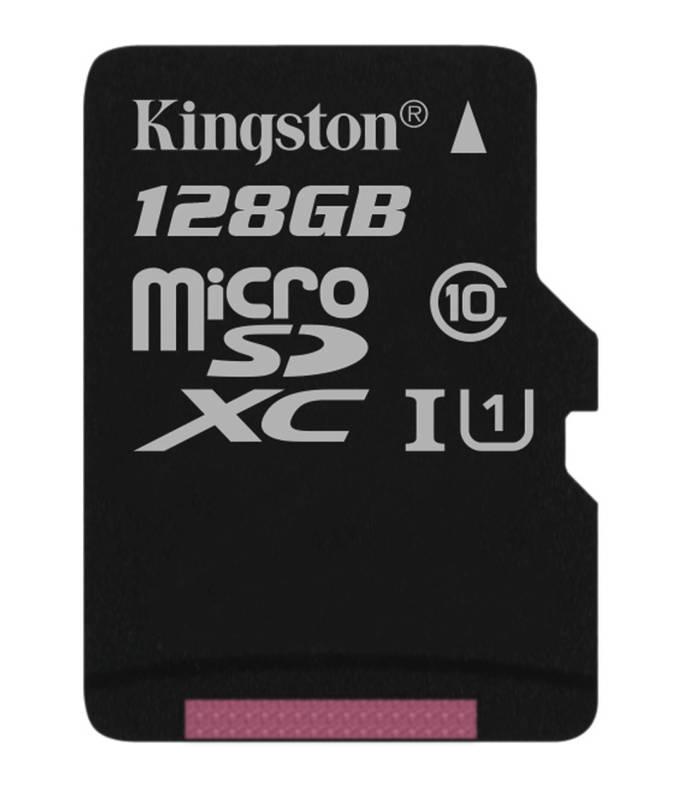 Pamäťová karta Kingston MicroSDXC 128GB UHS-I U1 (45R/10W) (SDC10G2/128GBSP)