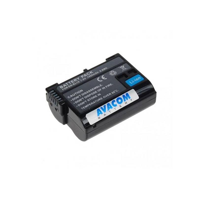Baterie Avacom Nikon EN-EL15 Li-ion 7,2V 1400mAh (DINI-EL15-853)