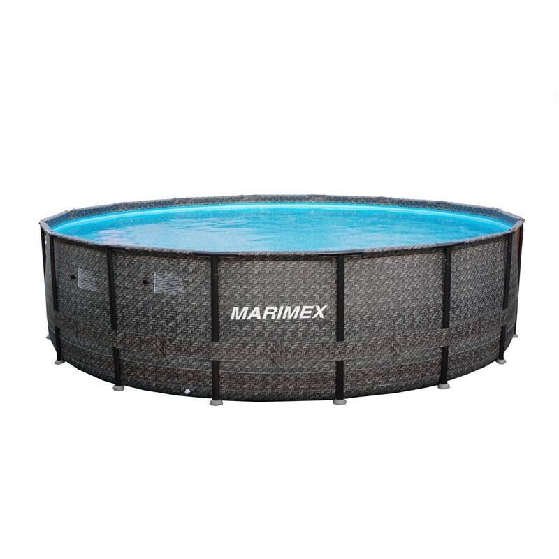 Bazén Marimex Florida Premium Ratan 4,88x1,22 m + Plavacia hračka Intex labuť (56287EU) v hodnote 23.60 €