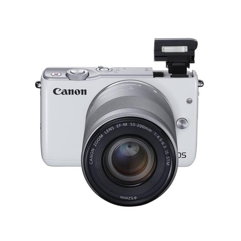 Digitálny fotoaparát Canon EOS M10 + 15-45mm STM biely