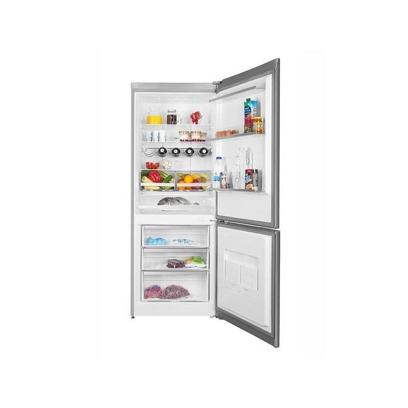 Kombinácia chladničky s mrazničkou ETA 237290010 nerez + Doprava zadarmo