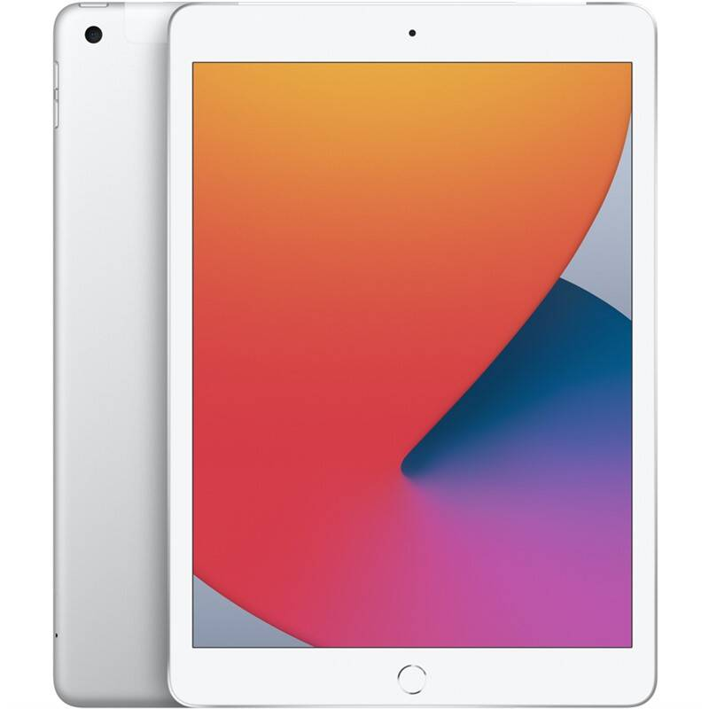 Tablet Apple iPad (2020) Wi-Fi + Cellular 128GB - Silver (MYMM2FD/A) + Doprava zadarmo