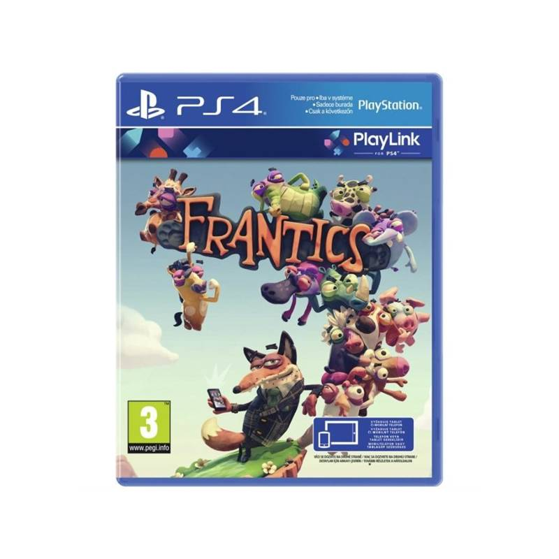 Hra Sony PlayStation 4 Frantics (PS719375173)