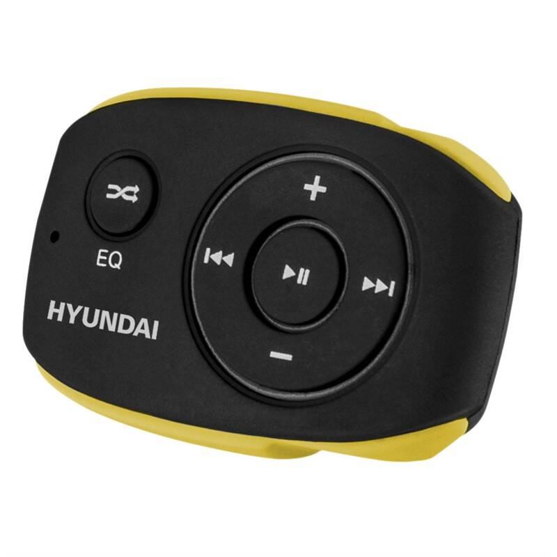 MP3 prehrávač Hyundai MP 312 GB4 BY čierny/žltý