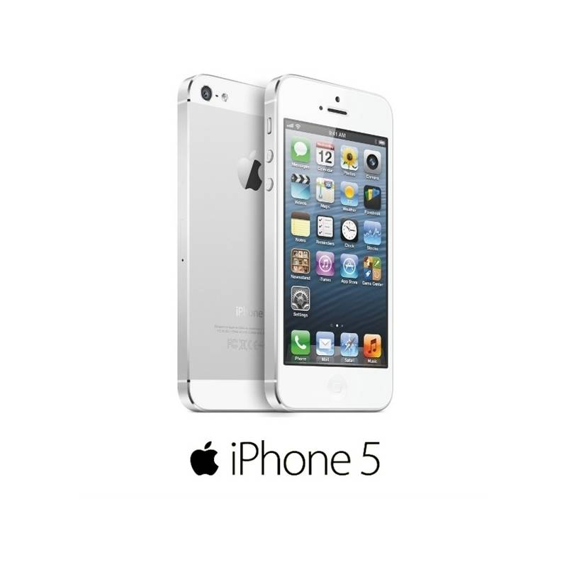 Mobilný telefón Apple iPhone 5 16GB (MD298CS A) biely  027ed2c5728