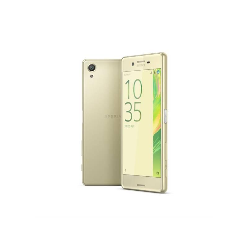 Mobilný telefón Sony Xperia X (F5121) - Lime Gold (1303-0695)