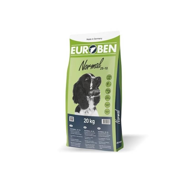 Granule EUROBEN Normal 25-10 / 20 kg + Antiparazitní obojek Scalibor Protectorband pro psy - 48 cm v hodnote 12.00 €