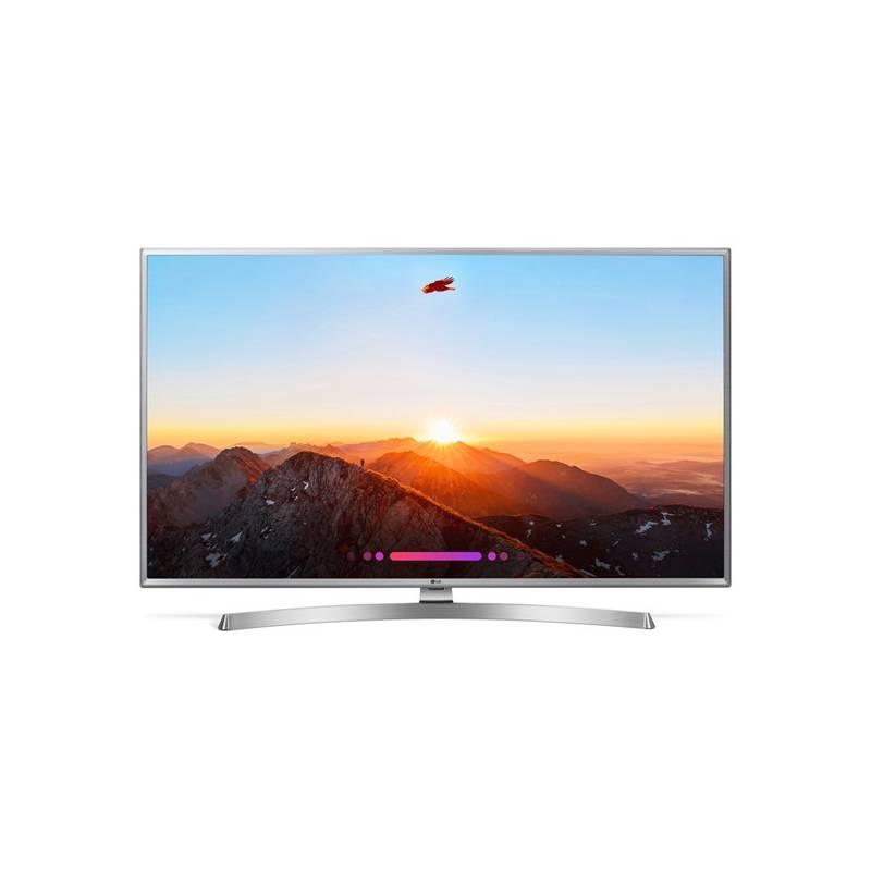 Televízor LG 50UK6950PLB strieborná + Doprava zadarmo