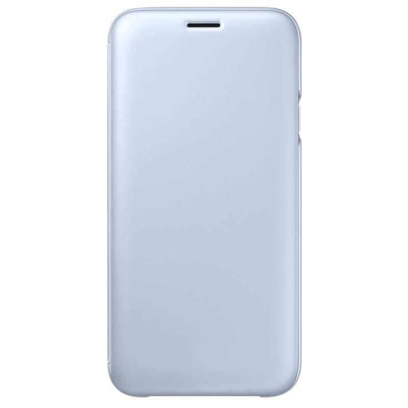 Puzdro na mobil flipové Samsung Wallet Cover pro J5 2017 (EF-WJ530CLEGWW)  modré 20c2b1392a8
