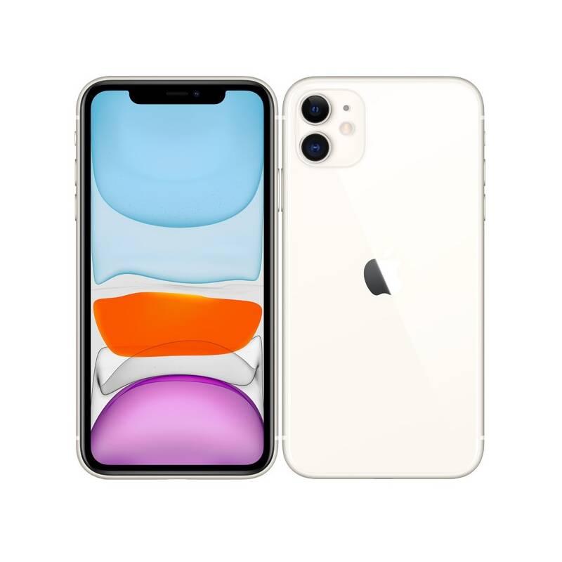 Mobilný telefón Apple iPhone 11 64 GB - White (MWLU2CN/A) + Extra zľava 3 % | kód 3HOR2020
