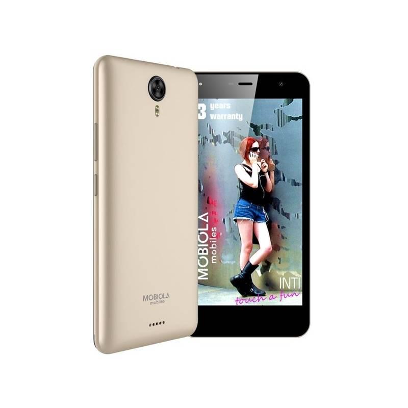 Mobilný telefón Mobiola INTI (MS50L1) zlatý Software F-Secure SAFE, 3 zařízení / 6 měsíců (zdarma) + Doprava zadarmo