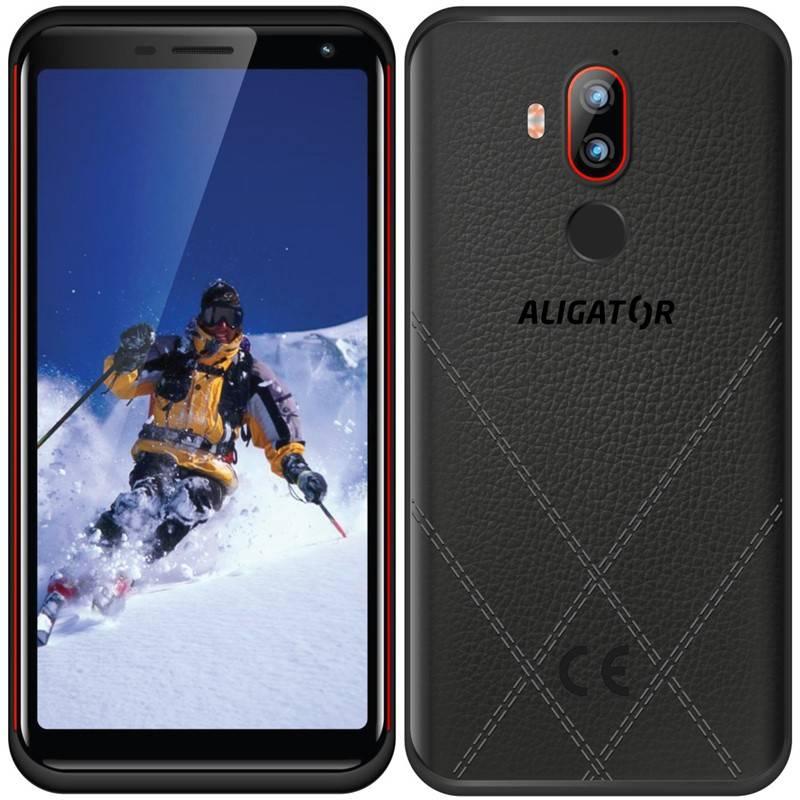 Mobilný telefón Aligator RX800 eXtremo (ARX800BR) čierny/červený + Doprava zadarmo