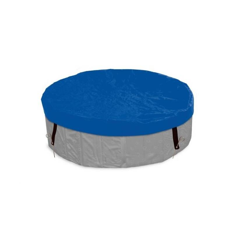 Bazén Karlie Plachta na bazén, modrá, 120cm