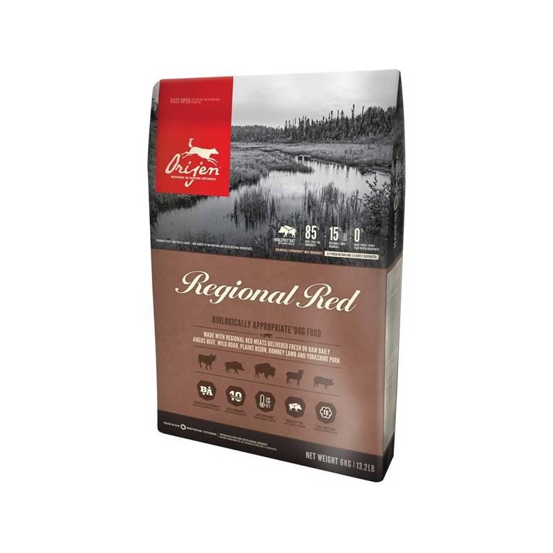 Granule Orijen Dog Regional RED 11,4 kg + Doprava zadarmo