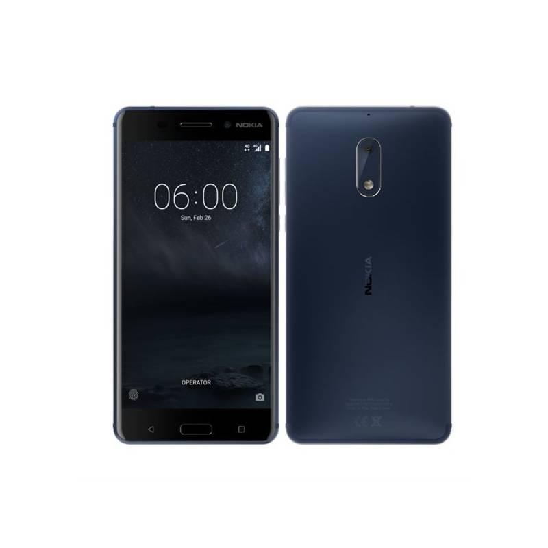 Mobilný telefón Nokia 6 Dual SIM (11PLEL01A08) modrý + Doprava zadarmo