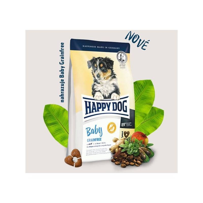 Granule HAPPY DOG Junior Grainfree 10 kg