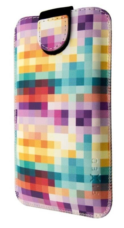 Puzdro na mobil flipové FIXED Soft Slim, 6XL - Dice (FIXSOS-DI-6XL)