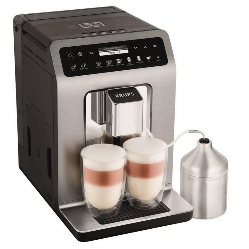 Espresso Krups Evidence Plus EA894T10 Titanium + Doprava zadarmo