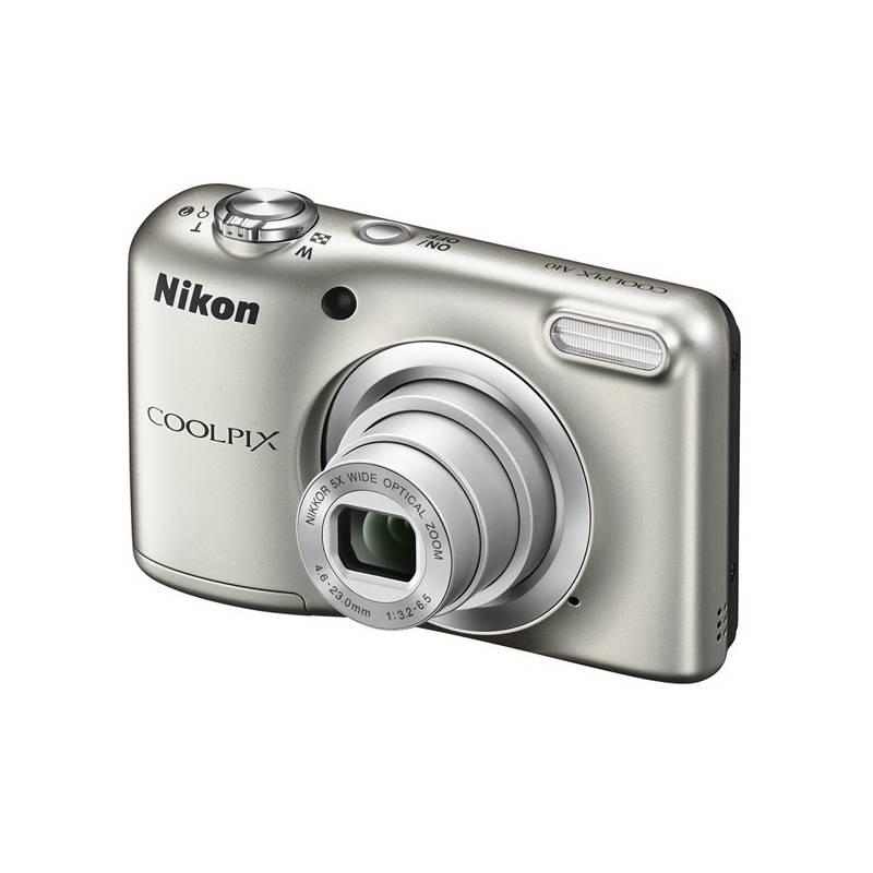 Digitálny fotoaparát Nikon Coolpix A10 strieborný