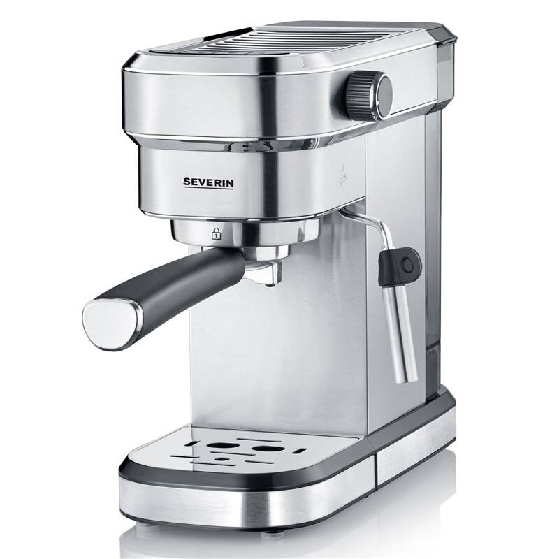 Espresso Severin KA 5994 strieborné + Doprava zadarmo