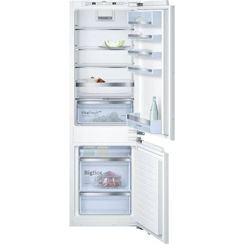 Kombinácia chladničky s mrazničkou Bosch KIS86AD40 biele + Doprava zadarmo