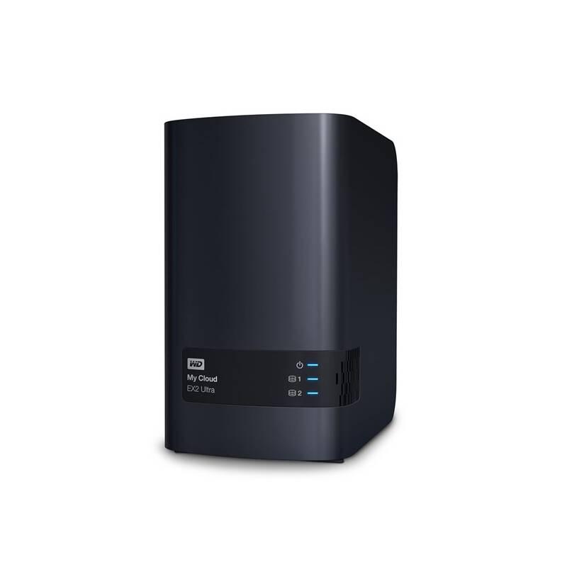 Sieťové úložište Western Digital My Cloud EX2 Ultra (WDBVBZ0000NCH-EESN) čierne