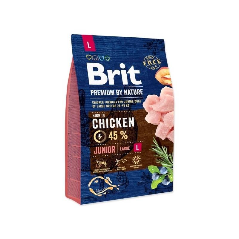 Granule Brit Premium Dog by Nature Junior L 3 kg