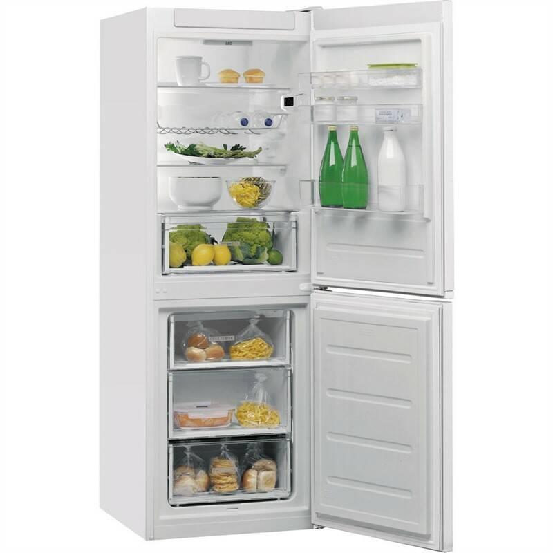 Kombinácia chladničky s mrazničkou Whirlpool W5 721E W biela + Doprava zadarmo