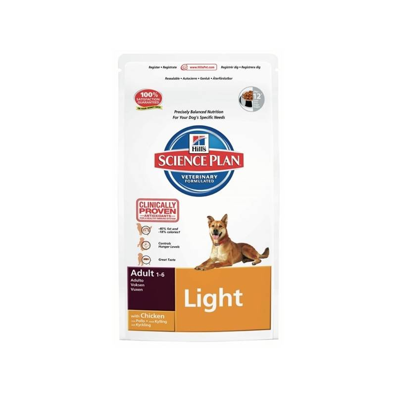 Granule Hill's Canine Adult Light Chicken, 3 kg