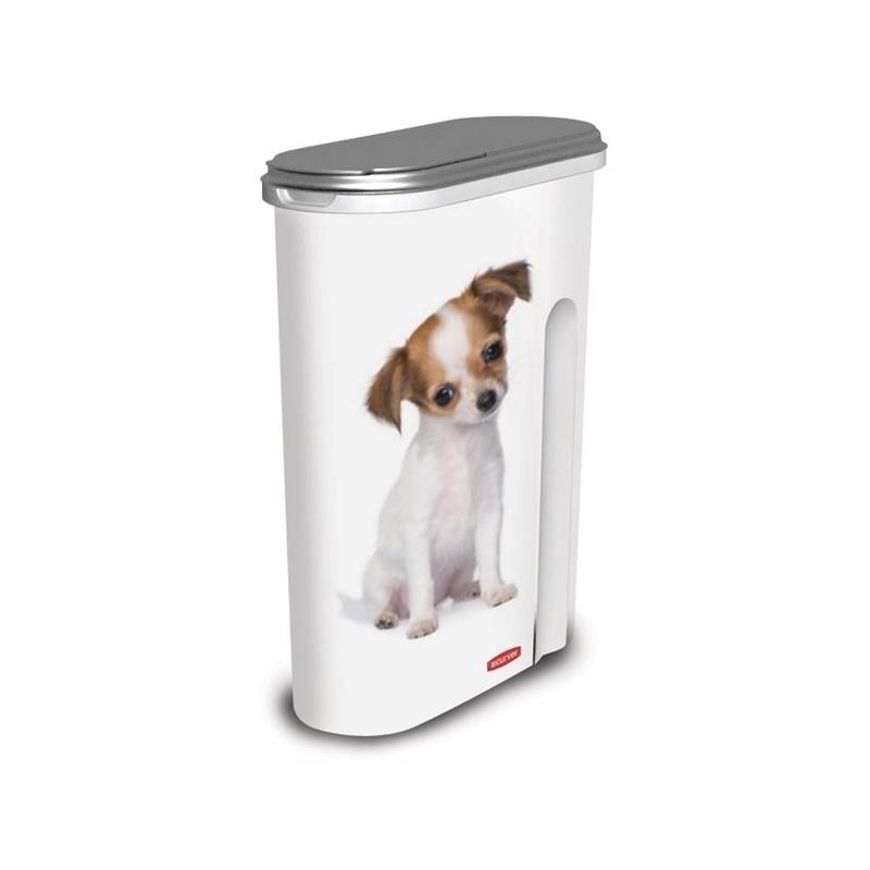 Box na krmivo Curver kontejner na 1,5 kg suchého krmiva pro psy