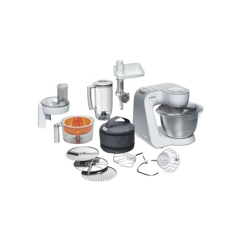 Kuchynský robot Bosch MUM54240 strieborný/biely