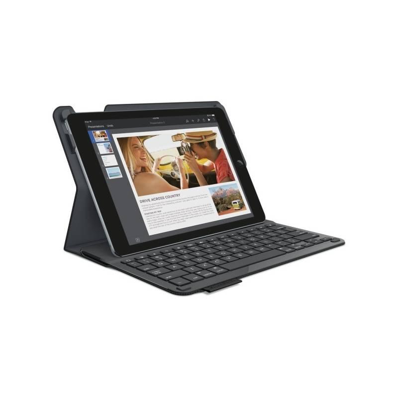 Púzdro s klávesnicou na tablet Logitech Type+ pro iPad Air 2 (920-006591) čierne/carbon