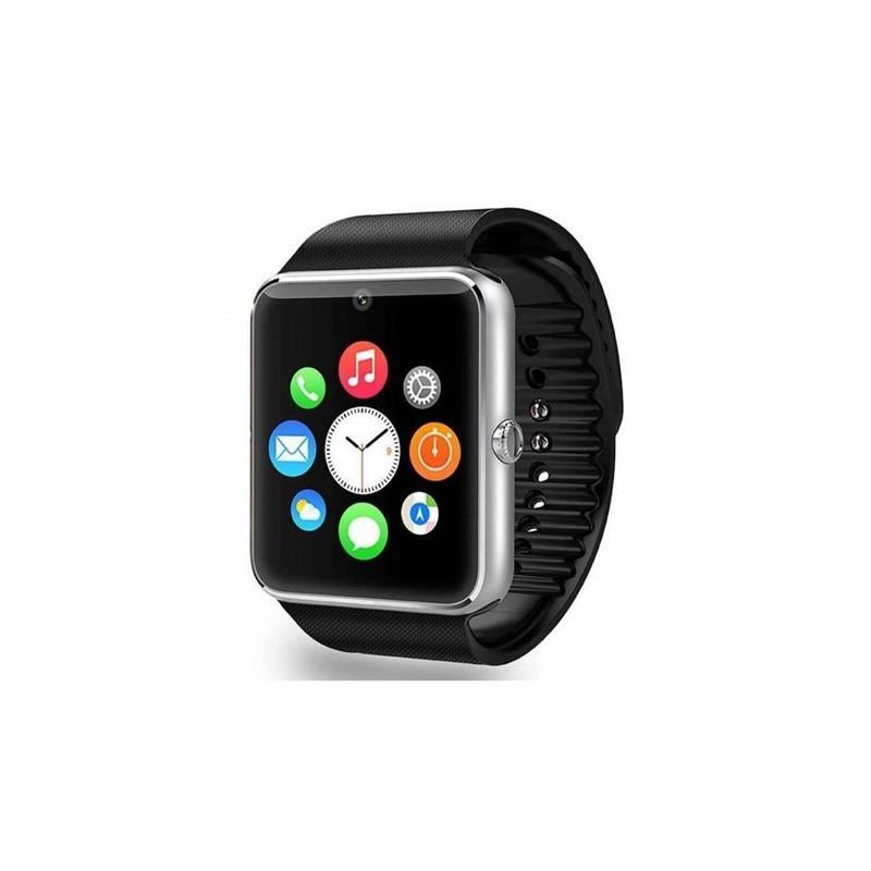 Chytré hodinky IMMAX SW6 SIM (09007) strieborné