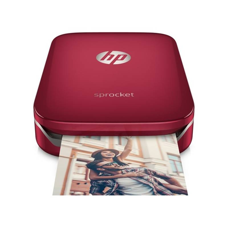 Fototlačiareň HP Sprocket Photo Printer (Z3Z93A#633) červená