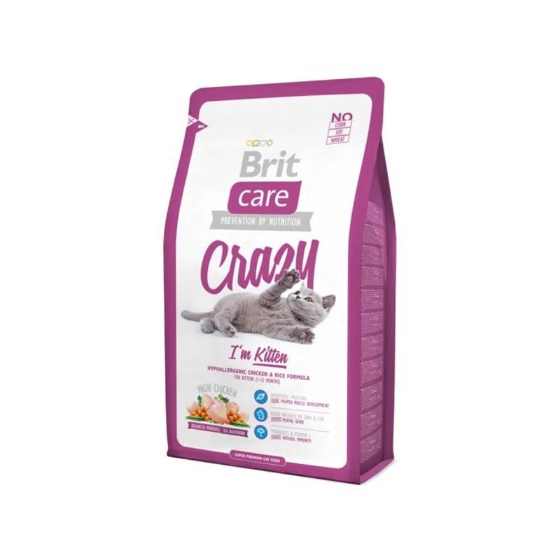 Granuly Brit Care Cat Crazy I´m Kitten 2 kg