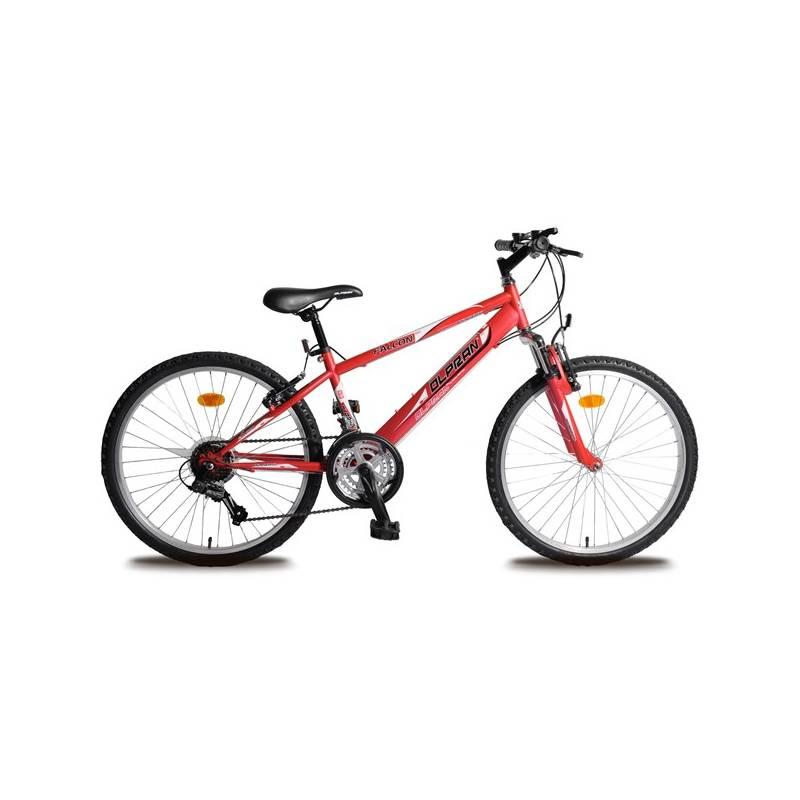 "Detský bicykel Olpran Falcon Sus 24"" červené"