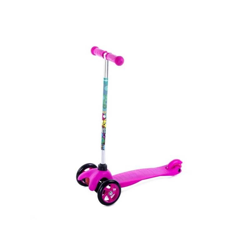 Trojkolka Spokey BULLER skládací dětská ružová farba + Reflexní sada 2 SportTeam (pásek, přívěsek, samolepky) - zelené v hodnote 2.80 € + Doprava zadarmo