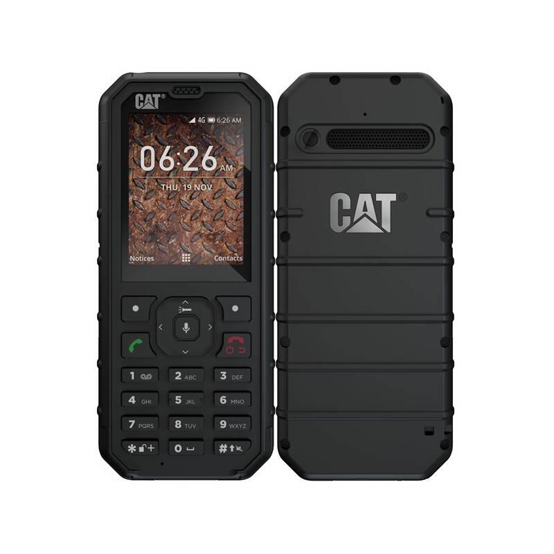 Mobilný telefón Caterpillar B35 4G Dual SIM (CB35-DAB-EUR-EN) čierny