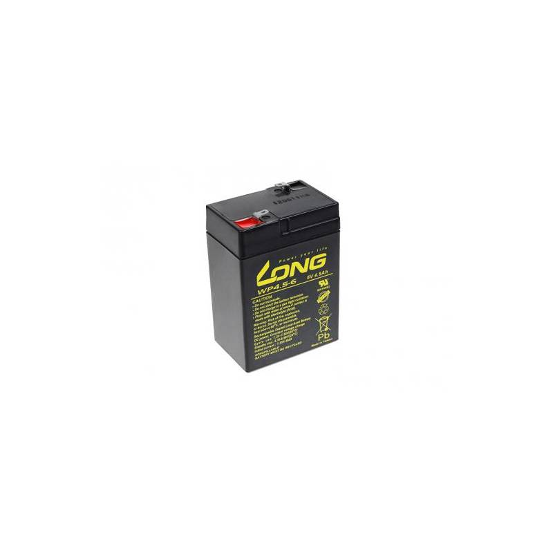 Olovený akumulátor Avacom Long 6V 4,5Ah F1 (PBLO-6V004,5-F1A)