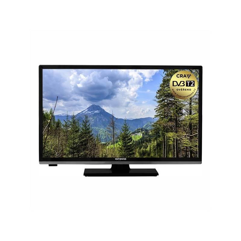 Televízor Orava SK LT-632 čierna + Doprava zadarmo