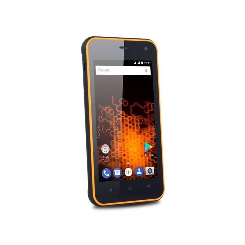 Mobilný telefón myPhone HAMMER ACTIVE Dual SIM (TELMYAHACTIVEOR) oranžový