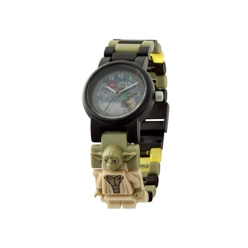 Hodinky LEGO® Watch STAR WARS™ s minifigurkou Yoda 9b5887e42db