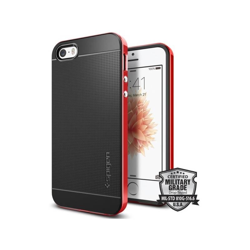Kryt na mobil Spigen Neo Hybrid Apple iPhone 5/5s/SE - dante red (041CS20186)