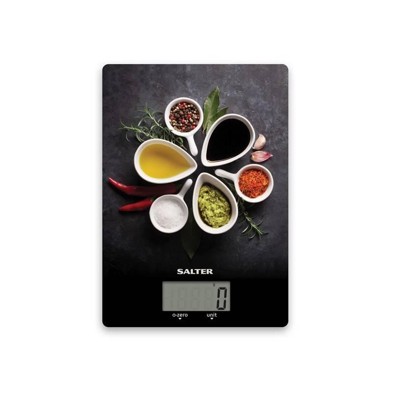 Kuchynská váha Salter 1171SPDR čierna