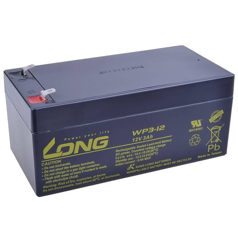 Olovený akumulátor Avacom Long 12V 3Ah F1 (WP3-12) (PBLO-12V003-F1)