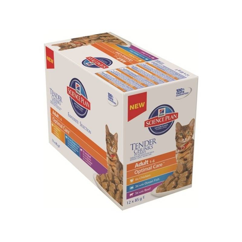 Kapsička Hill's Adult Chicken+Turkey Multipack 12 x 85g